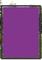 bedrucktes Glas | lila/purple