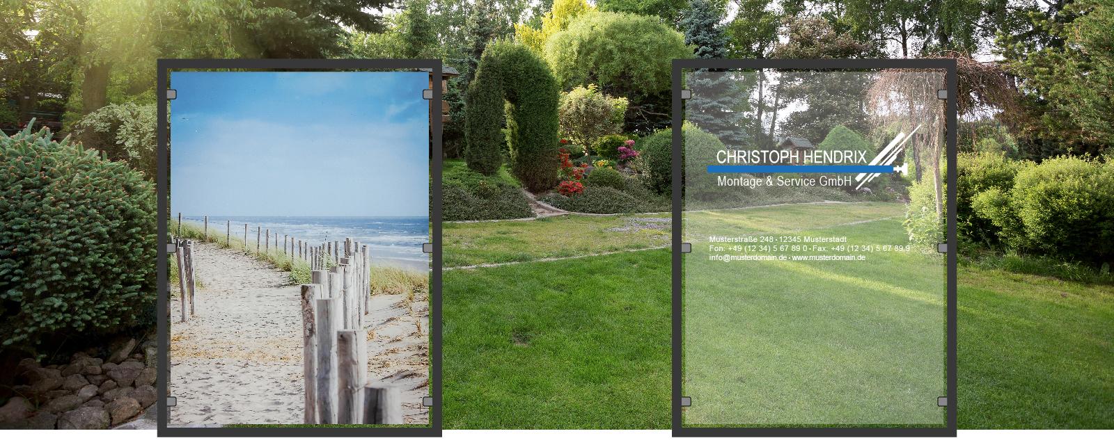 Zaunbilder De Designe Deinen Eigenen Zaun